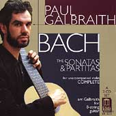 Bach: Sonatas & Partitas - arranged for guitar / Galbraith