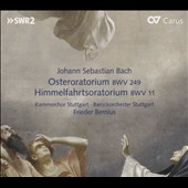 J.S. Bach: Easter Oratorio BWV 249; Oratorio for Ascension Day BWV 11 / Stuttgart Baroque Orchestra & Chamber Choir; Frieder Bernius