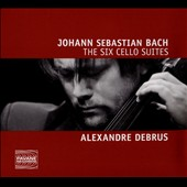 J.S. Bach: Six Cello Suites / Alexandre Debrus, cello