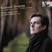 Richard Strauss: A Life in Song (Ein Leben in Liedern) / Timothy Sharp, baritone; Jan Roelof Wolthuis, piano