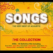 Various Artists: Songs: The Very Best of Acoustic - The Collection [Digipak]