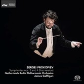 Prokofiev: Symphonies Nos. 3 & 4 (first version) / Netherlands Radio PO; James Gaffigan