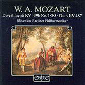 Mozart: Divertimenti, etc / Berlin Philharmonic Winds