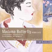 Puccini: Madama Butterfly - Highlights / Leinsdorf, Price