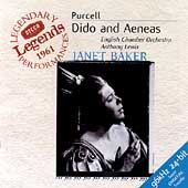 Purcell: Dido and Aeneas / Lewis, Baker, Herincx, et al