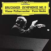 Bruckner: Symphony no 8 / Boulez, Wiener Philharmoniker