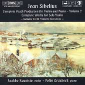 Sibelius: Complete Youth Production for Violin & Piano Vol 2