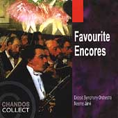 Favourite Encores / J&auml;rvi, Detroit Symphony Orchestra