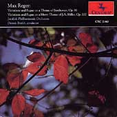 Reger: Variations and Fugues / Dennis Burkh, Janacek PO