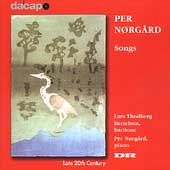 Norgaard: Songs / Bertelsen