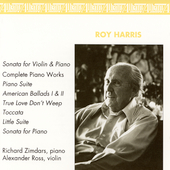 Music of Roy Harris / Richard Zimdars, Alexander Ross