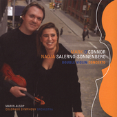 O'Connor: Double Violin Concerto, etc / Salerno-Sonnenberg