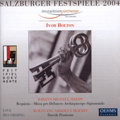 Salzburger Festspiele 2004 / Bolton, Mozarteum Orchester