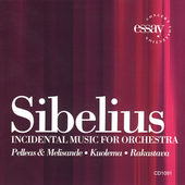 Sibelius: Incidental Music / Kapp, Philharmonia Virtuosi
