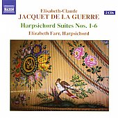 Jacquet de la Guerre: Harpsichord Suites / Farr