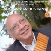 The Art of Pan-pipe - works by Vivaldi, Leclair, Binon / Zurich Chamber Orchestra; Simion Stanciu Syrinx, pan-pipe
