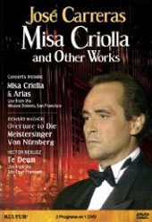 Jose Carreras - Misa Criolla & Other Works, Wagner, Berlioz / Abbado [DVD]