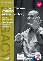 Haydn & Beethoven: Symphonies / William Steinberg, Boston SO [DVD]