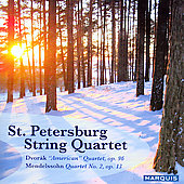 Dvorak, Mendelssohn / St. Petersburg String Quartet