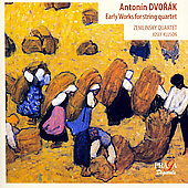 Dvorák: Early Works for String Quartet / Zemlinsky Quartet