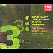 Tchaikovsky: Complete Music for Piano and Orchestra, etc