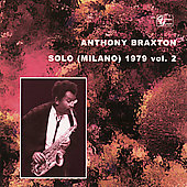 Anthony Braxton: Solo (Milano) 1979, Vol. 2