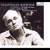 Schostakovich, Chopin: Works for Piano / Sviatoslav Richter
