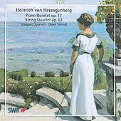 Herzogenberg: Piano Quintet Op 17, String Quartet Op 63 / Triendl, Minguet Quartet