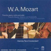 Mozart: Trios for piano, violin & cello/ Haydn Trio Eisenstadt