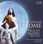 Strauss: Salome / Wozniak, Zimmer, Caballe, Brock