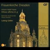 Hasse: Missa in G minor / Guttler