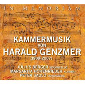 In Memoriam: Kammermusik von Harald Genzmer