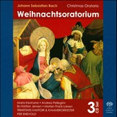 Bach: Christmas Oratorio / Keohane, Pellegrinik, Jensen, Larsen [Hybrid SACD]