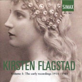 Kristein Flagstad: Volume 1, The Early Recordings 1914-1942
