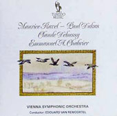 Maurice Ravel, Paul Dukas, Claude Debussy, Emmanuel A. Chabrier: Orchestral Works / Vienna Symphonic Orchestra; Remoortel