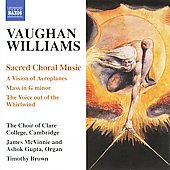 Ralph Vaughan Williams: Sacred Choral Music