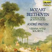 Beethoven, Mozart: Piano Quintets / Previn, Vienna Winds