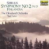 Sibelius: Symphony no 2, Finlandia / Levi, Cleveland Orch
