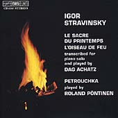 Stravinsky: Piano Transcriptions / Achatz, P&#246;ntinen