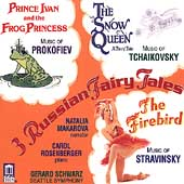 Music for Young People - 3 Russian Fairy Tales / Makarova