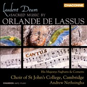 Laudent Deum: Sacred Music by Orlande de Lassus / His Majesty's Sagbutts and Cornetts