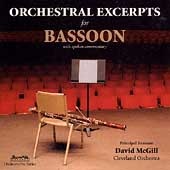Orchestral Excerpts for Bassoon / David McGill
