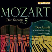 Mozart: Duo Sonatas, Vol. 5 / Catherine Mackintosh, Geoffrey Govier