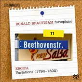 Beethoven: Complete Works for Solo Piano Vol. 11 / Ronald Brautigam, fortepiano