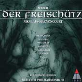 Weber: Der Freisch&uuml;tz / Harnoncourt, Holzmair, Moll, et al