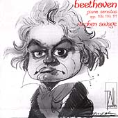 Beethoven: Piano Sonatas Op 109, 110, 111 / Stephen Savage
