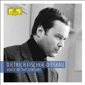 Dietrich Fischer-Dieskau: Voice of the Century [25 discs - Includes DVDs] [Limited Edition]