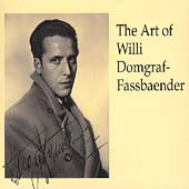 The Art of Willi Domgraf-Fassbaender