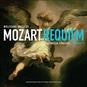 Mozart: Requiem (David Black's 2013 edition of Süssmayr's completion) / Joann Lunn; Rowan Hellier; Thomas Hobbs; Matthew Brook. John Butt