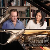 Beethoven Dialogues - 4-hand piano trancsriptions of the Op. 18 String Quartets / Duo Stephanie and Saar